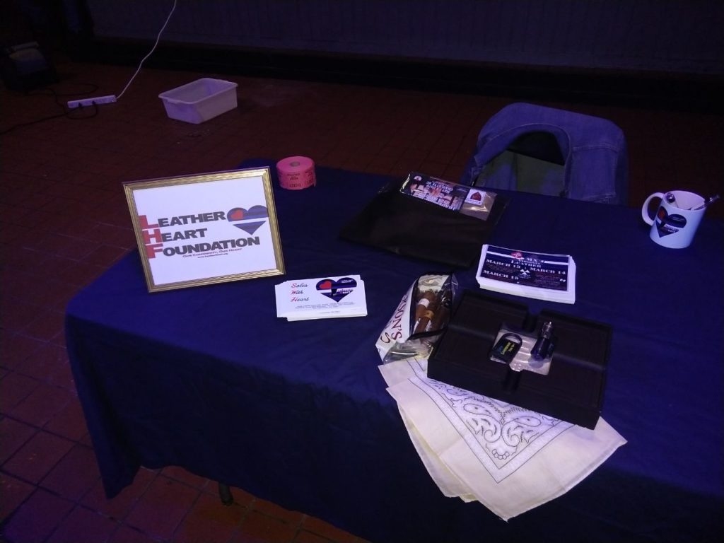 Picture of Leather Heart Foundation table